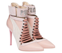 364470 LACE UP HEEL