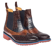 AMELIE 33 CROCK BROWN/TAN/NAVY