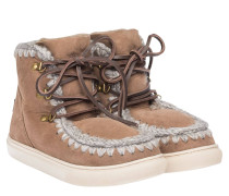 SNEAKER LACE UP STONE MOU