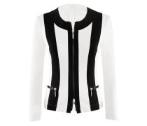 Figurnahe Jacke aus Viskose-Jersey | Prefer-Jacke in schwarz