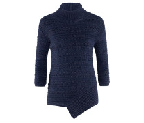 STR-104 Knit | Pullover in Lochstrick in DARK NAVY