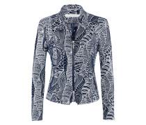 Play-Jacket | Jacke mit Stehkragen und grafischem Muster in DARK NAVY