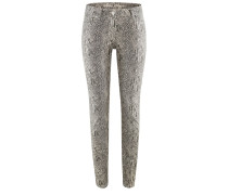 Airfield JPL-550 | Jeans mit Snakeprint in NUDE