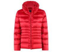 Degree-Jacket l Taillierte Daunenjacke in TANGO RED