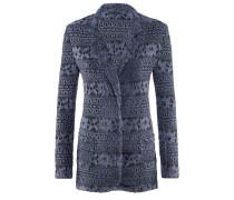 Affect-Blazer | Tailliertes Jacket aus Spitze in OCEAN BLUE