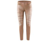JPK-557 Jeans in TOBACCO BROWN