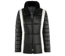 Freestyle-Jacket | Figurnahe Steppjacke in JET schwarz