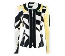 Jersey-Jacke mit Muster | Pixie-Jacke in CITRUS