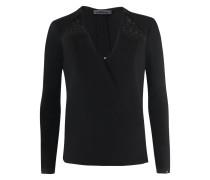 BL-523 Bluse in schwarz
