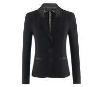 Codex-Blazer | Taillierte Jacke in JET schwarz
