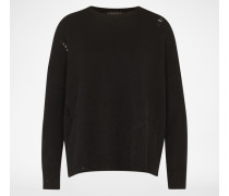 Pullover aus Kaschmir schwarz