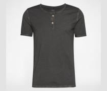 T-Shirt im Used-Style 'Cirocco' grau