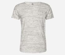 Meliertes T-Shirt 'Cimanolo' grau