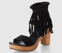 Sandaletten 'Ana' schwarz