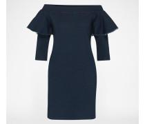 Off Shoulder Dress 'Anik' blau