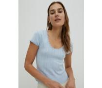 Shirt 'Maryam' blau