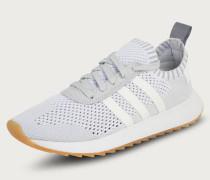 Sneaker mit dämpfender Laufsohle weiß
