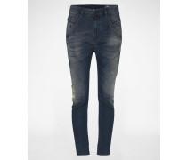 'Fayza' JoggJeans Tapared Fit 678J blau