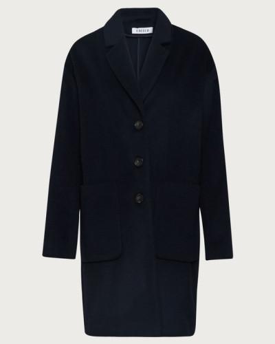 Mantel 'Belina' blau