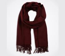 Schal mit Wolle 'Viamuse' rot