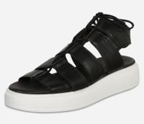 Sandalette mit sportlicher Laufsohle schwarz