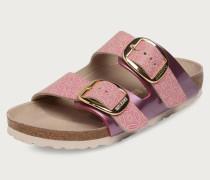 Pantoletten 'Arizona Big Buckle' pink