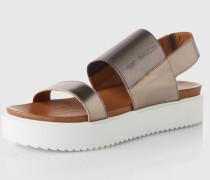 Sandaletten '6001' grau/silber