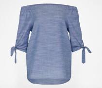 Off-Shoulder Bluse 'Sasha' blau