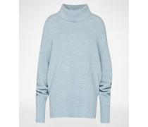 Oversized Pullover 'Meike' blau