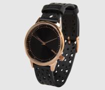 Armbanduhr 'Estelle Cutout' schwarz
