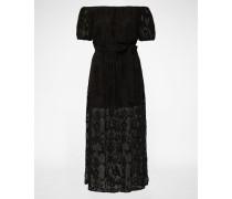 Off Shoulder Kleid 'Gracie' schwarz