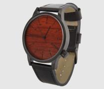 Armbanduhr 'Winston' braun/schwarz