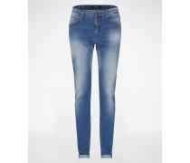 'Pilar' Skinny Jeans blau