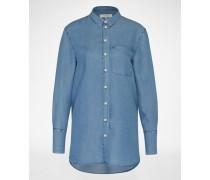 Jeansbluse 'SFDAHRMA' blau