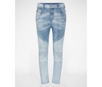 'Fayza-C-Ne' Jeans Tapered Fit blau