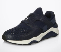 Sneaker 'Mood' mit Nieten-Applikationen blau