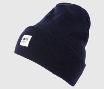 Mütze 'Tall' blau
