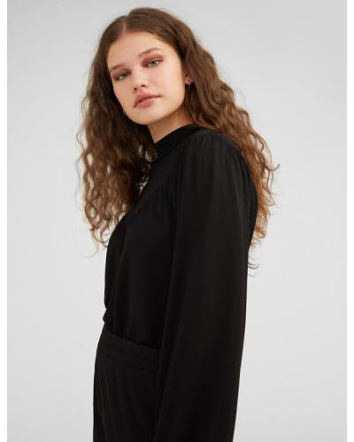Shirt 'Olesja' schwarz
