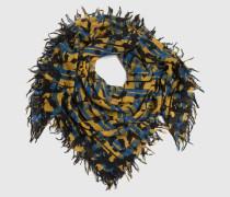 Tuch aus Wolle 'Emile' mehrfarbig