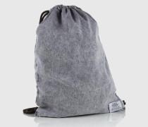 Gym Bag aus Denim grau