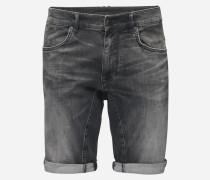 Jeansshorts in Slim Fit 'Seek' grau
