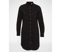 'LS ICONIC WESTERN' Hemdkleid schwarz