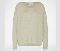 Oversized Pullover 'Mille' grün
