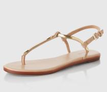 Sandalen 'Tia' beige/braun
