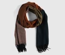 Schal mit Wolle 'Kia' mehrfarbig