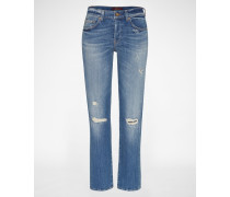 Destroyed Jeans 'JARED' blau