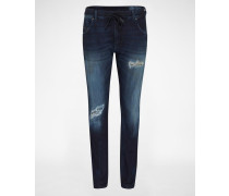 'Krailey' Jeans Loosefit 678S blau