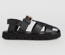 Sandale 'Patriz' schwarz