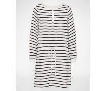 Sommerkleid 'DEIDRE' schwarz/weiß