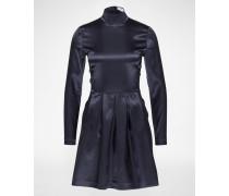 Kleid 'Stefani Satin' blau